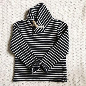 Crewcuts Sz 4-5 shawl collar sweatshirt